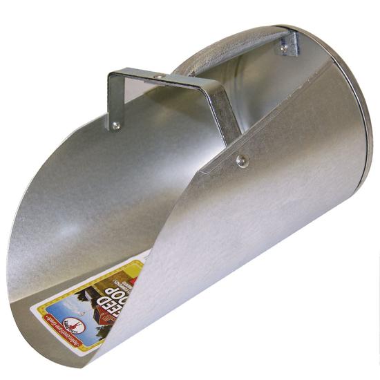Picture of 4 Qt Galvanized Scoop