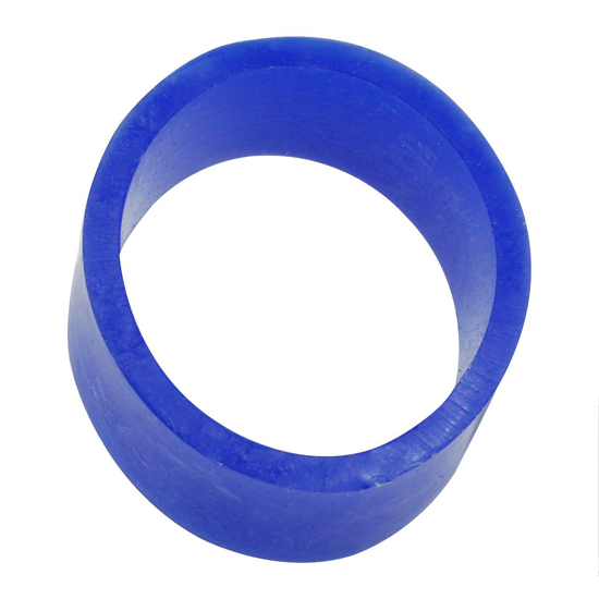 """Picture of 1-3/8"""" ID Blue Silicone Hose Ring"""