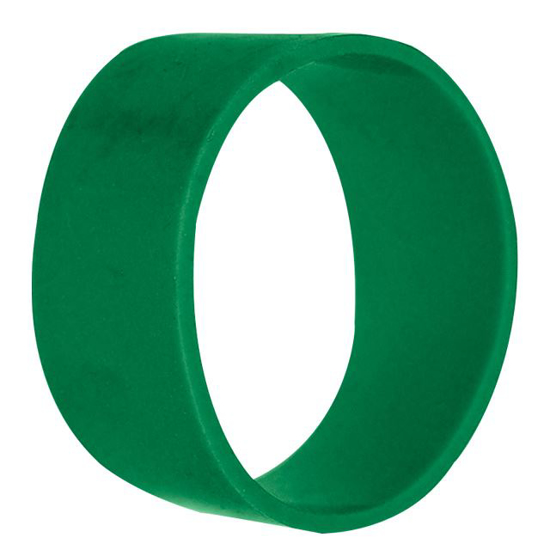 """Picture of 1-3/8"""" ID Green Silicone Hose Ring"""