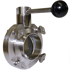 Picture of Type 316 Butterfly Valve (Weld/Weld)