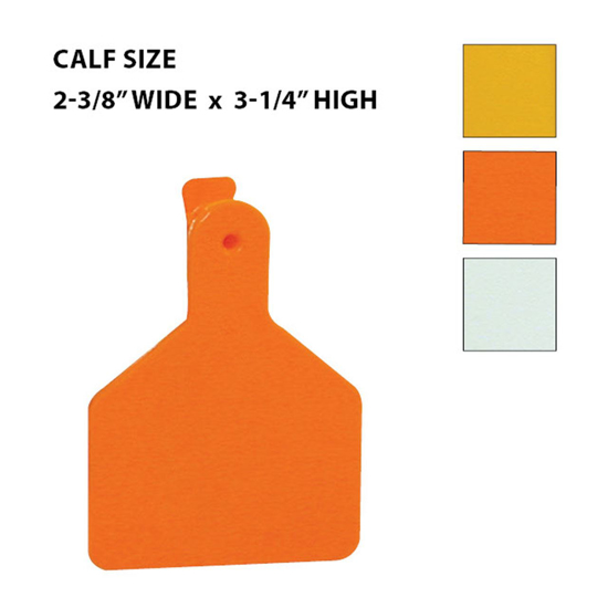 Picture of Z-Tags Eartags, Blank, 100 tags