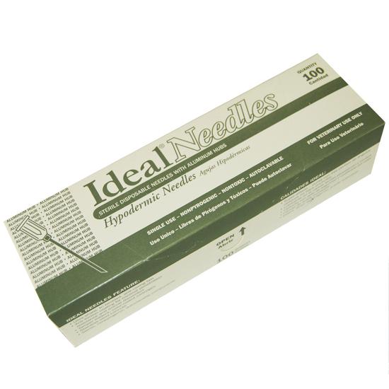Picture of Aluminum Hub Needles, 16 gauge, Pack of 100