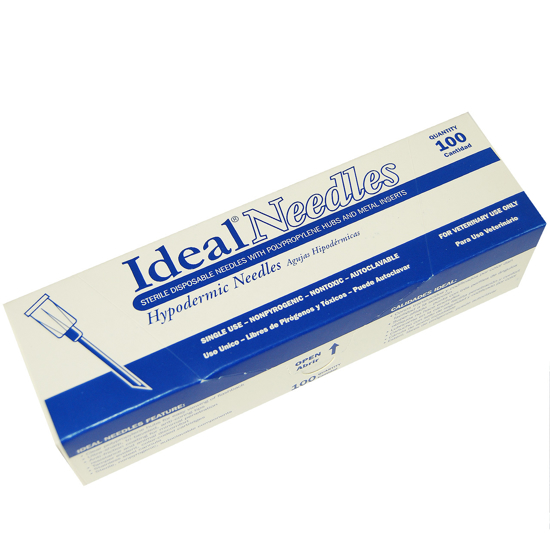 Picture of Polypropylene Hub Needle, 20 gauge, Pack of 100