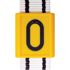 Picture of Yellow Neck Strap Numbered