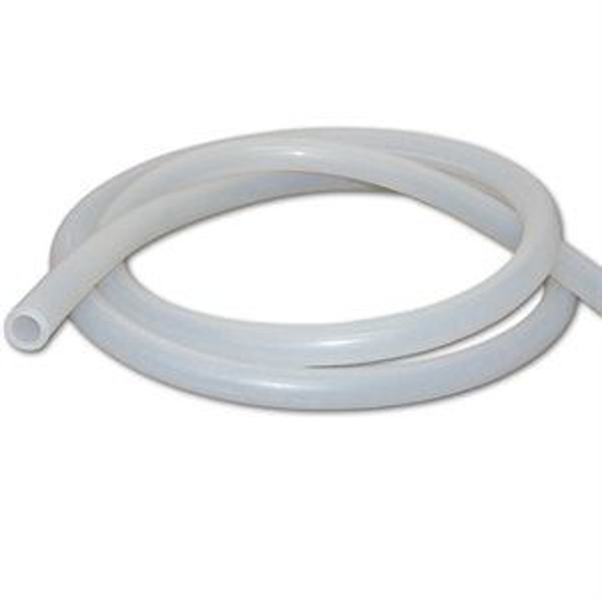 """Picture of 5/8"""" ID Clear Silicone Milk Tubing--Ctn/100'"""