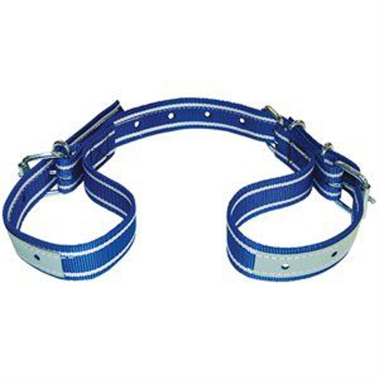 Picture of Adjustable Heavy-Duty Cow Hobble--Blue & White