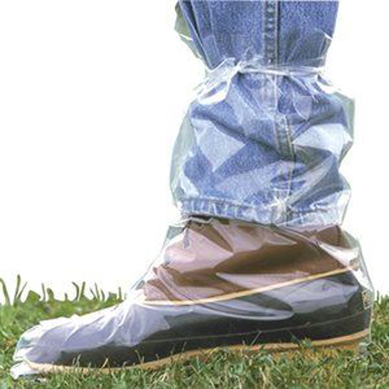 Picture of 4 mil Extra Large Boots w/ Ties--Ctn/50