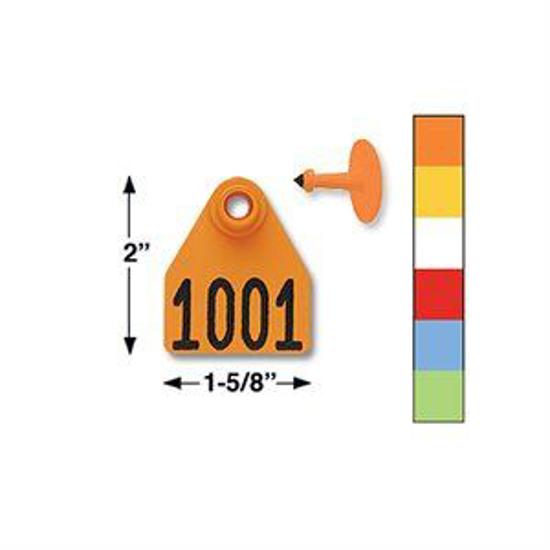 Picture of Allflex Medium Eartag, 25 tags
