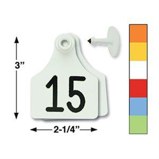 Picture of Allflex Double Large Eartag, 25 tags