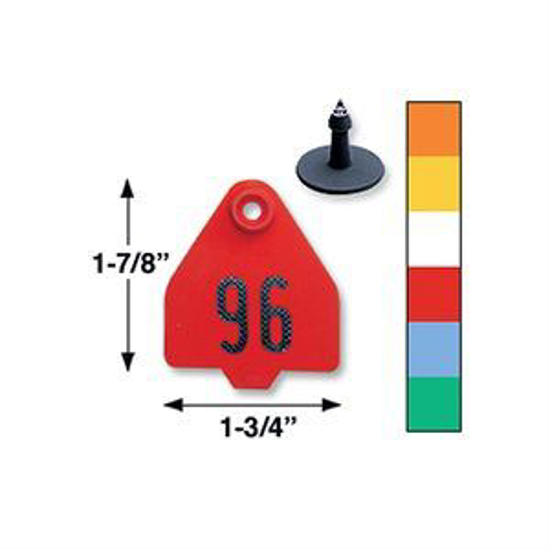 Picture of Duflex Medium 2-Piece Eartag, 25 Tags
