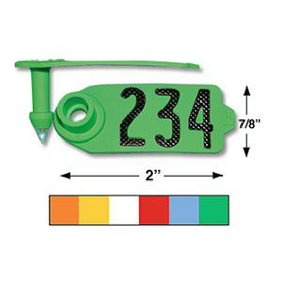 Picture of Duflex Sheep and Goat Eartag, 25 tags