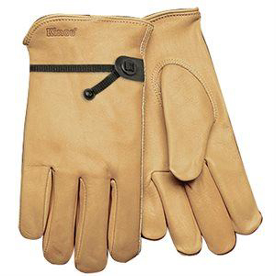 Picture of All-Weather Cowhide Gloves with Pull Strap
