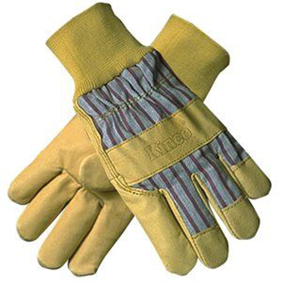 Picture of Leather-Palm Knit-Wrist Gloves