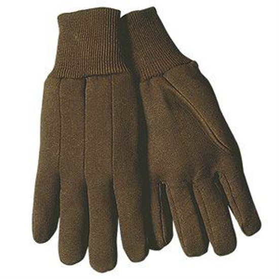 Picture of 9 oz. Brown Jersey Gloves