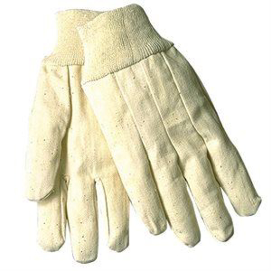 Picture of White 8 oz. Canvas Gloves