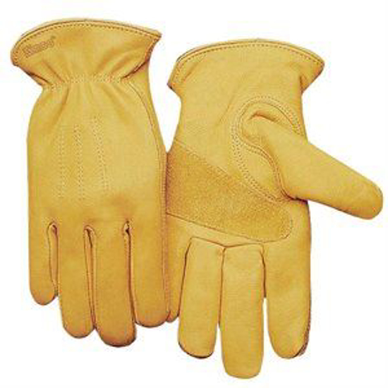 Picture of Unlined Premium Grain Cowhide Gloves
