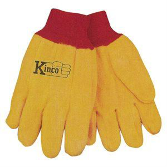 Picture of Yellow 14 oz. Chore Gloves