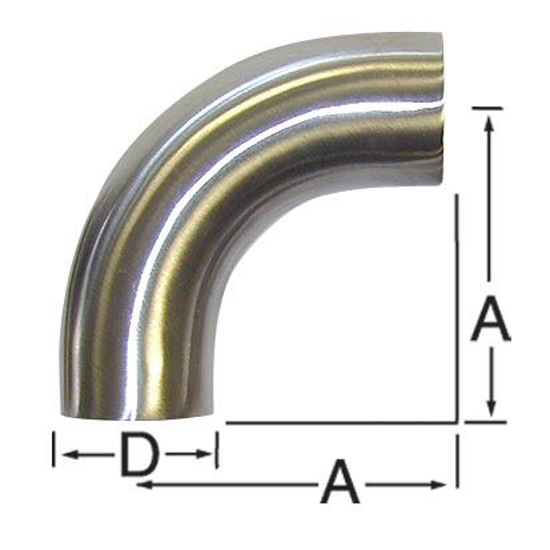 Picture of 90-Degree Bend (Weld/Weld)