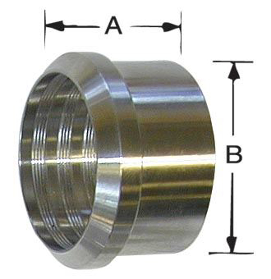 Picture of Bevel-Seat Recessless Roll-On Ferrule