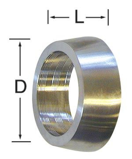 Picture of Glass to Stainless Roll-On Ferrule
