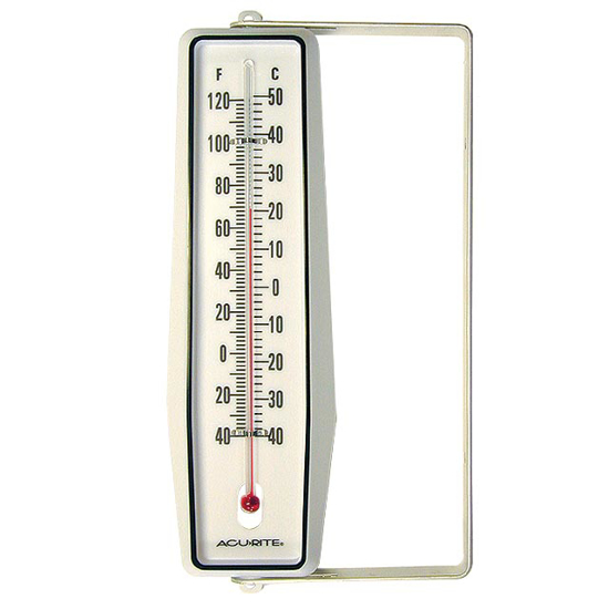 Picture of Outdoor Window-Wall Thermometer